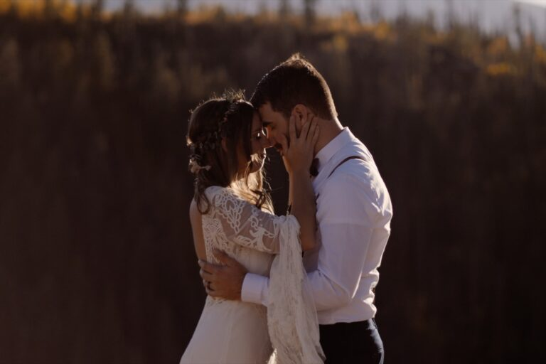 Acts of Adventure Elopement Videography Rustic Mountain Wedding
